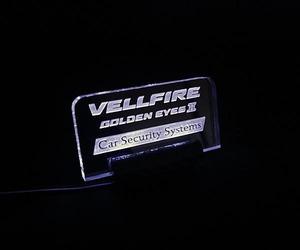ヴェルファイヤ用オリジナルアクリルプレートスキャナー2